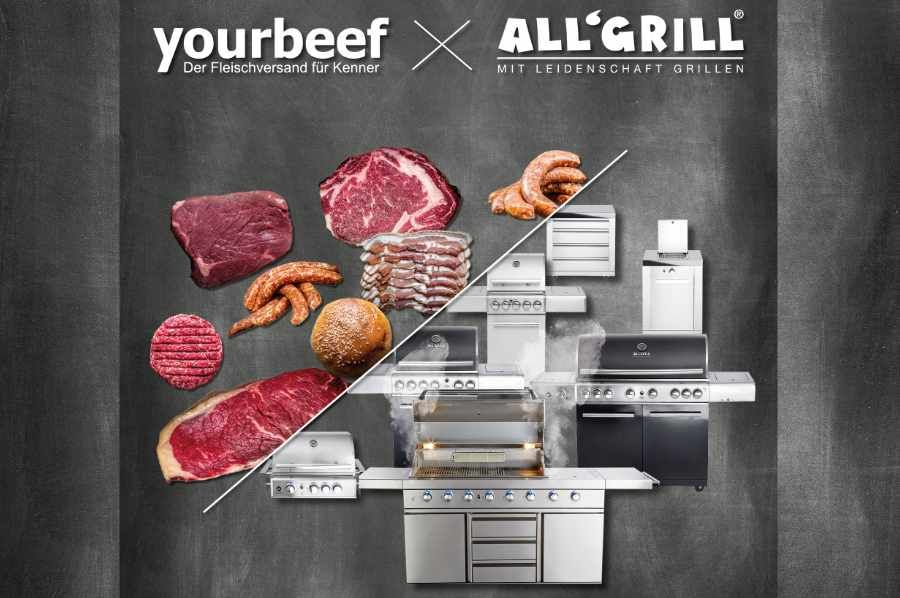 All'Grill & yourbeef Fleisch-Wurst-Burger-Paket