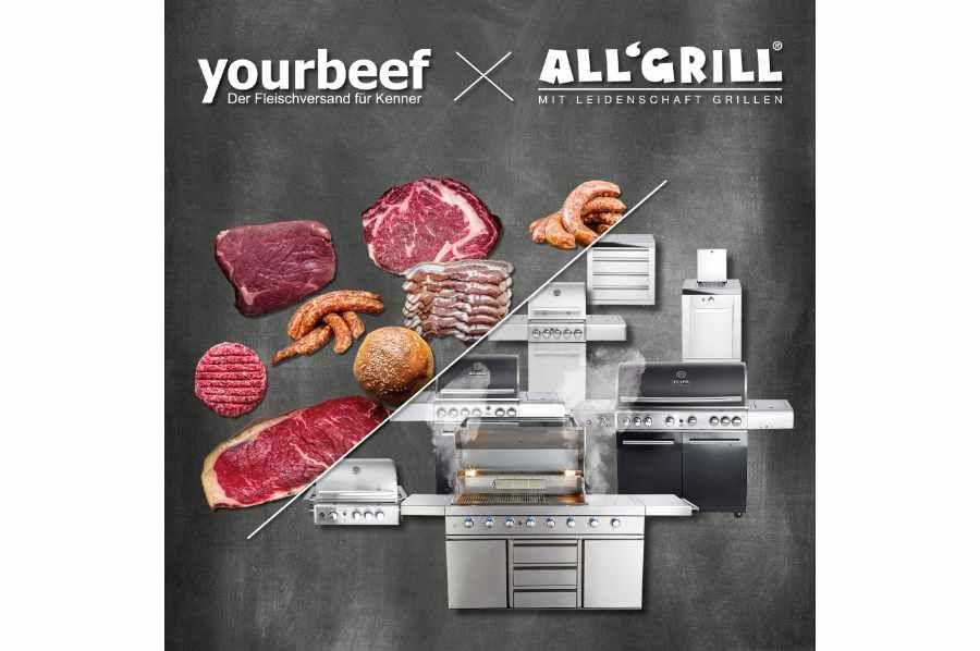 All'Grill & yourbeef Fleisch-Wurst-Burger-Paket