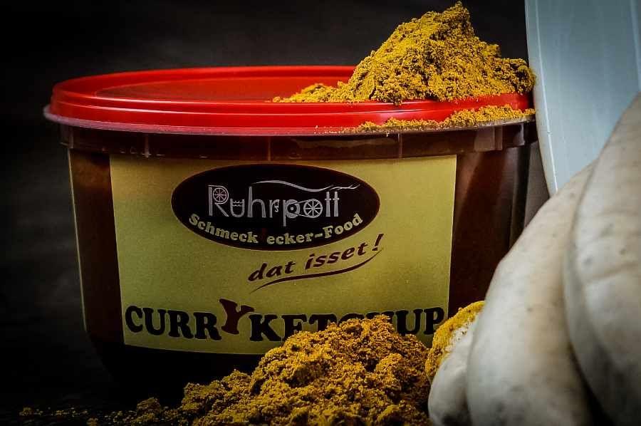 Original Ruhrpott Curry Ketchup für die beste Currywurst