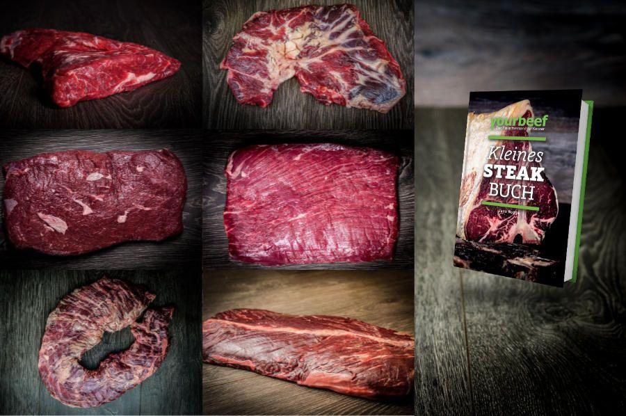 Special Cuts vom Rind: Flanksteak, Flat Iron Steak, Onglet, Hanging Tender, Skirt Steak, Spider Steak, Tri Tip Steak