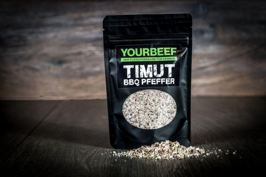 Timut BBQ Pfeffer - mit Bourbon Vanille und rosa Beeren