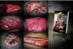 Die beliebtesten Special Cuts vom Rind: Flanksteak, Flat Iron Steak, Onglet, Hanging Tender, Skirt Steak, Spider Steak, Tri Tip Steak